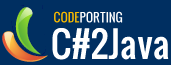 CodePorting C#2Java Visual Studio Addin